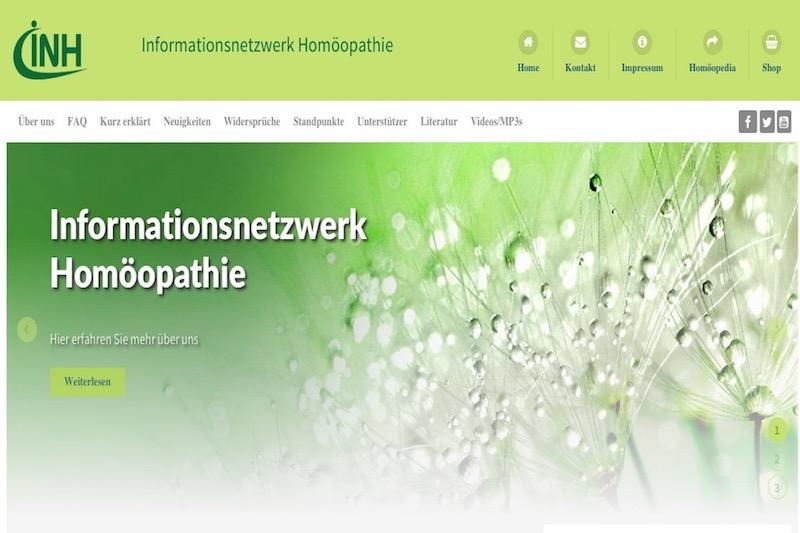 link screenshots 800x533px INH Informationsnetzwerkhomopathie
